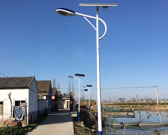 故城县6米太阳能路灯40瓦锂电池整套什么价