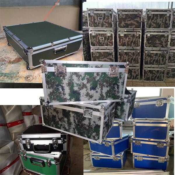 白银市定制铝合金舞台服装箱定做厂家正天铝箱