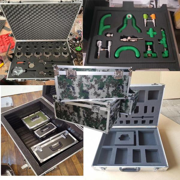 普格定制铝合金军备箱定做正天铝箱批发