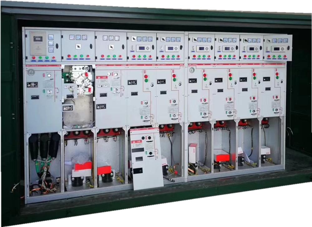 固原市源头工厂40.5KV高压电缆分线箱/10KV充气柜带避雷器价格