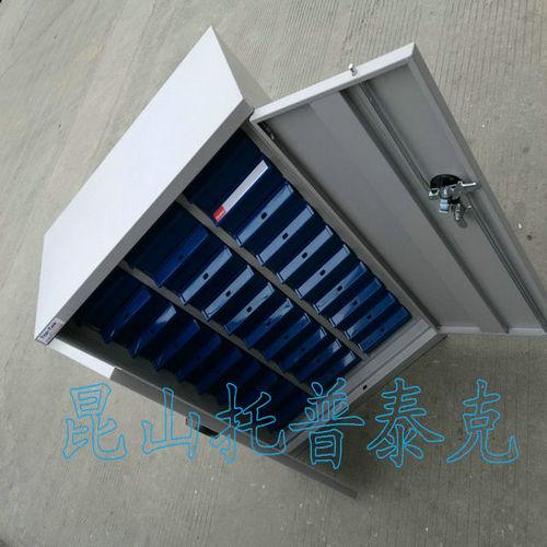 卢氏63抽A4纸整理柜---白银无器件零件整理柜