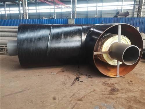钢套钢蒸汽保温钢管制作厂家烟台