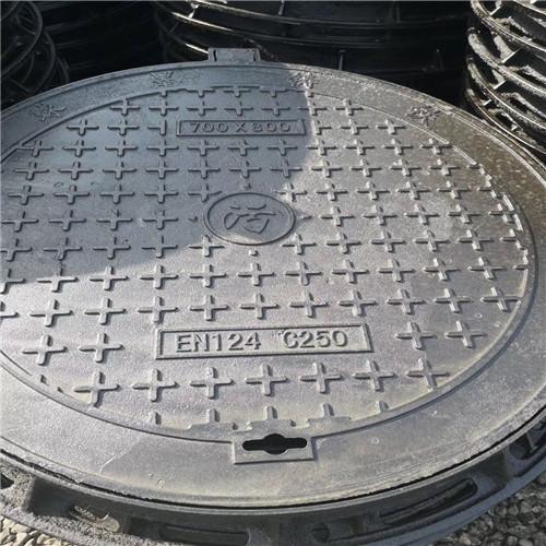 E500球墨铸铁井盖-1000*1000-球墨铸铁井盖//宜宾
