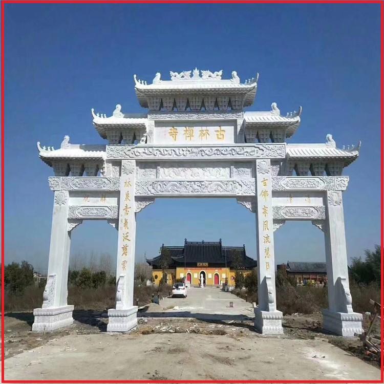 赣州市山门石雕牌坊修建公司