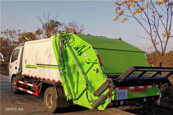 乌鲁木齐市电动压缩垃圾车价格大图