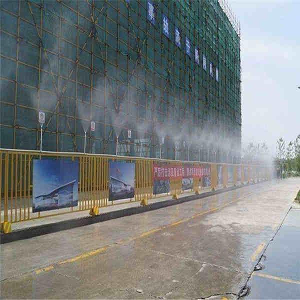 日照市供应围挡喷淋环保除尘造雾设备查询