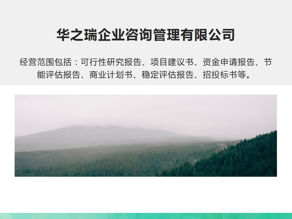 2021年盐津县科技产业园项目可研报告,加甲级资信