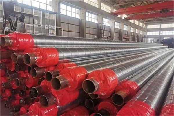 预制直埋钢套钢保温管1吨价格 *萧山