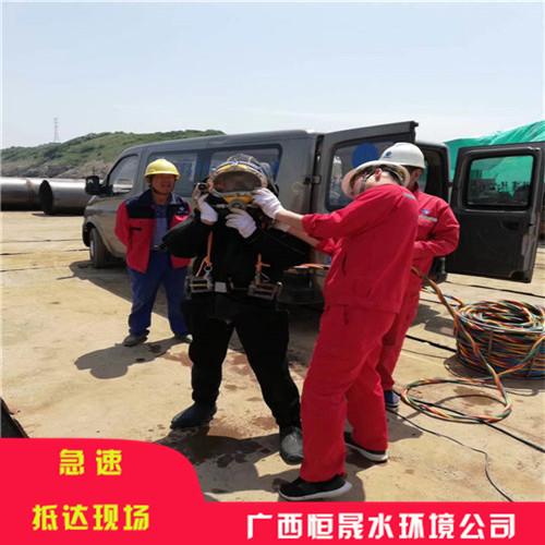 黄石市水下管道穿越——(锦心绣肠)
