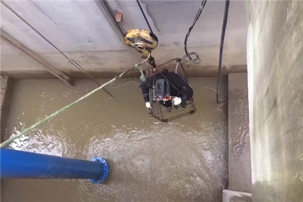 七台河污水管道水下封堵(守信单位)桥面渗水堵漏