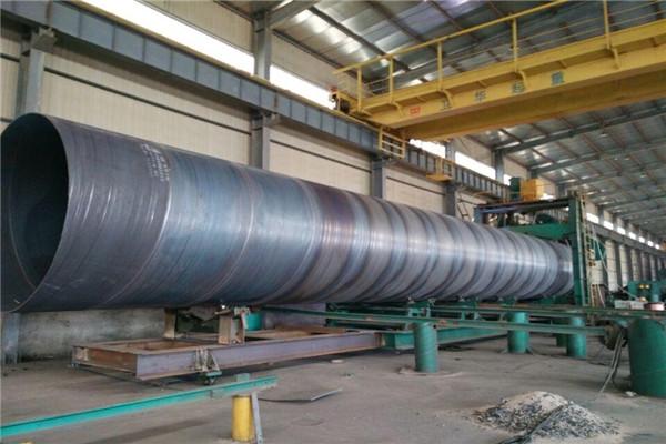 德惠市架空污水管线用D720螺旋焊管实体老厂家