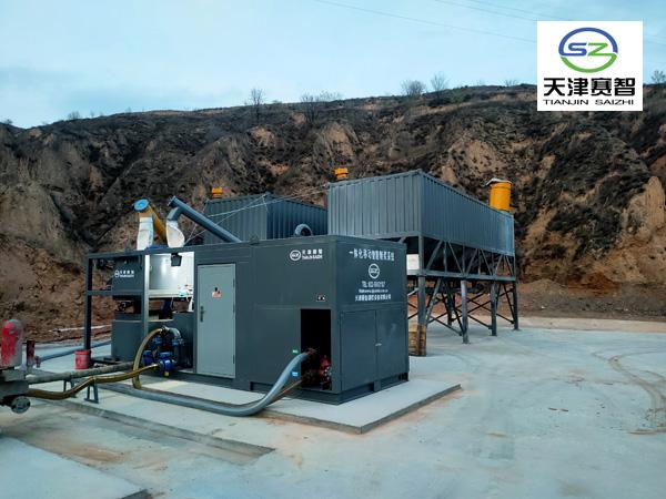 河北邯郸矿用制浆站应急抢险注浆水利水电注浆--天津赛智