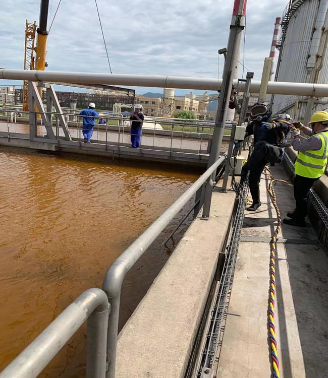 昆山水下摄像录像检查公司——闸门水下检查