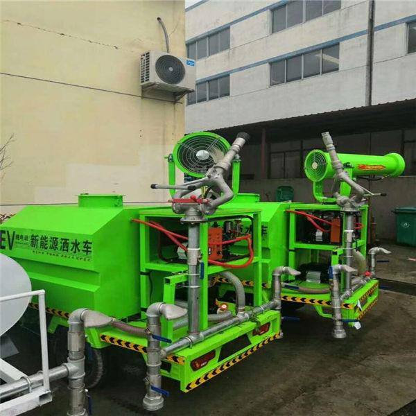资讯:资阳工程运输车载30米雾炮机--环保雾炮机