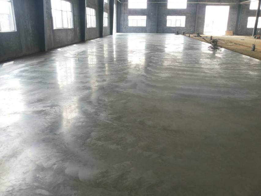郑州上街金刚砂耐磨地坪的施工工序咨询