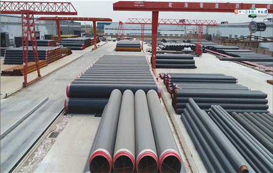 城镇供暖用地埋保温钢管厂家含税报价-潢川县