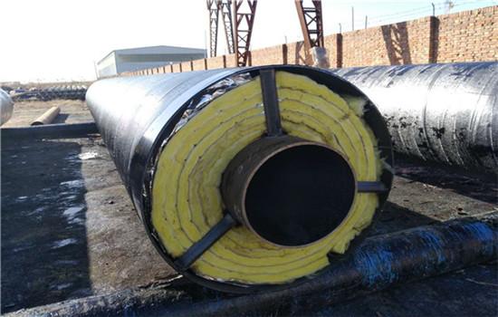 惠州市-鋼套鋼離心玻璃棉直埋保溫管價格低的廠家