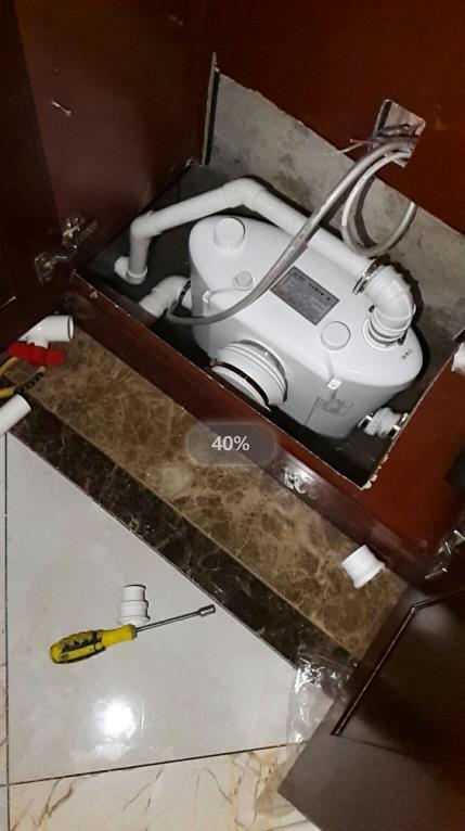玉溪峨山地下室安装座便器