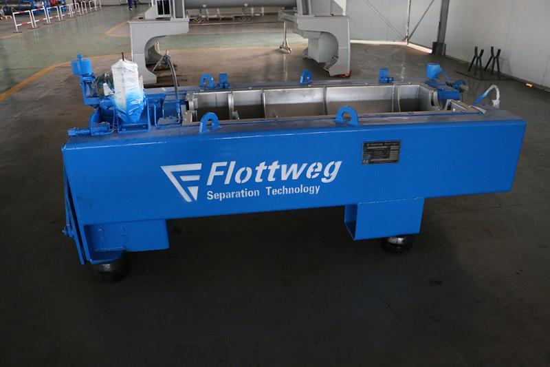 阜新市中达LW650螺旋维修包承包污水厂离心机设备维修