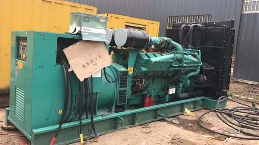 推荐:新会二手发电机回收公司