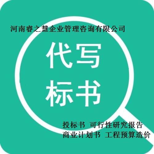 临沂代写项目建议书项目申请报告可研报告杜绝废标项