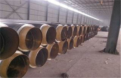 黑龙江省黑河市聚氨酯发泡黑夹克直埋保温管价格表
