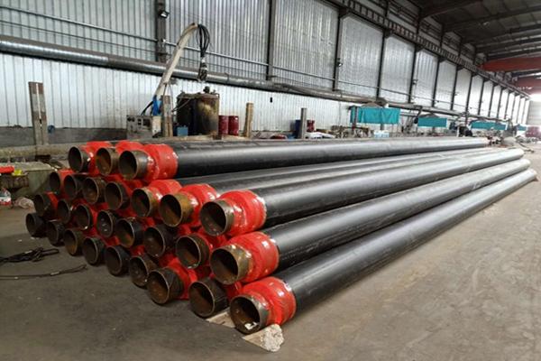 高密度聚氨酯发泡黑夹克保温钢管厂家