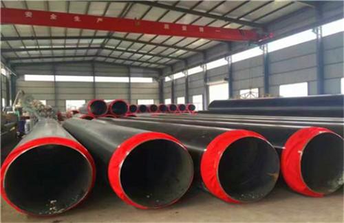 绵阳市游仙区直埋供热保温钢管在线生产