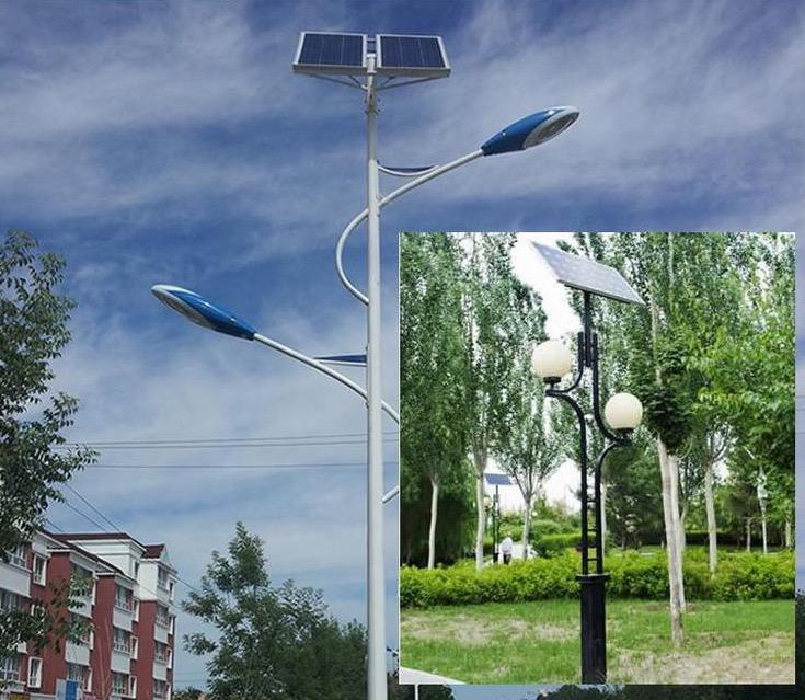 怀来县太阳能led路灯发货现场