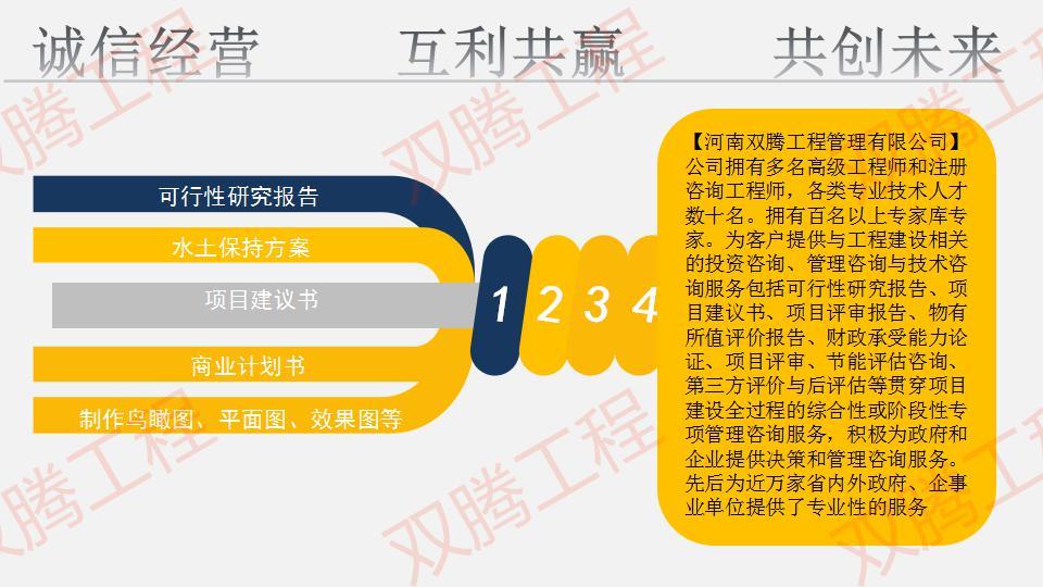 九台可以写项目申请报告-选择双腾品牌