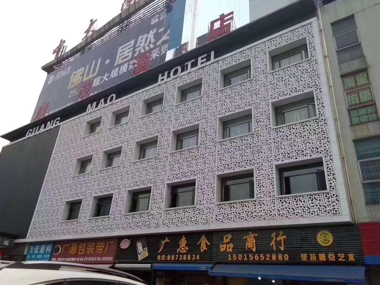 江西门头招牌雕花铝单板厂家直销
