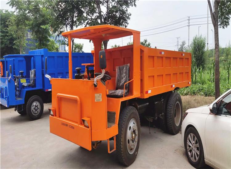 江西省赣州市四不不像低矮10吨自卸四轮矿山运输车工程运输车