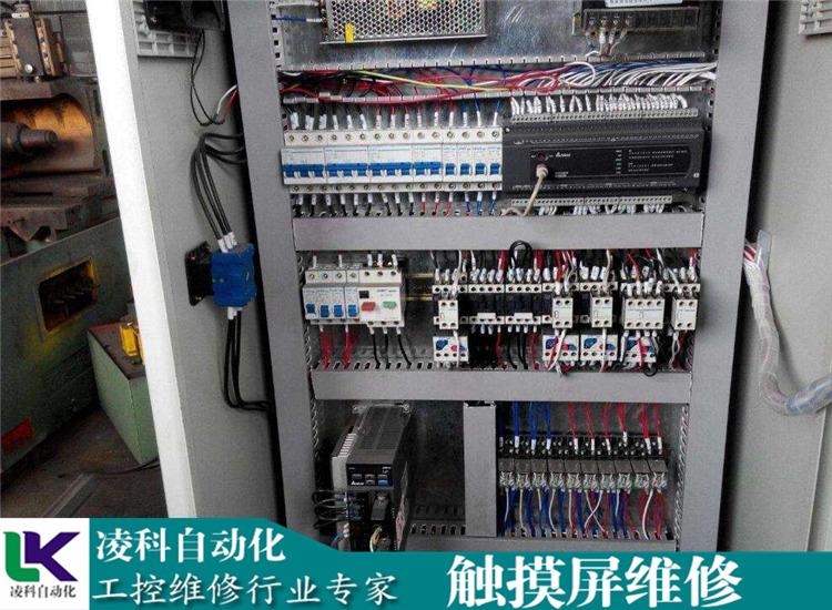 工业显示屏维修_台达Delta控制屏上电烧保险维修商