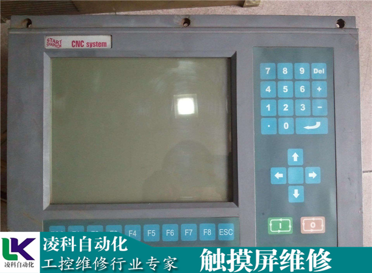 数控面板维修_Fuji富士HMI触摸屏上电烧保险维修规模大