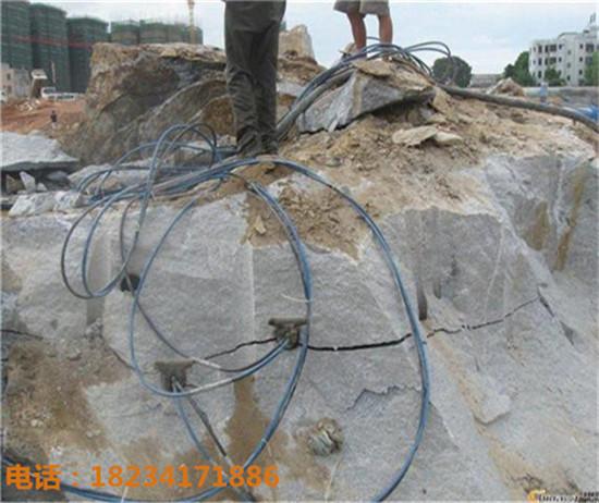基础工程无声破裂岩石器—河口瑶族自治县
