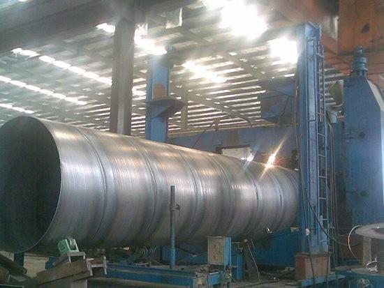 排放污水工程用螺旋钢管生产公司东明县