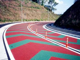 滨州彩色陶瓷防滑路面用途