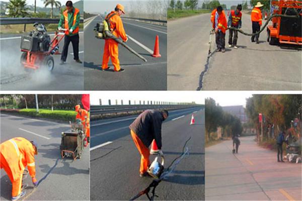 砼路面灌缝胶厂家-曲靖路面裂缝灌缝胶