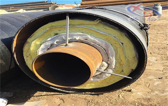 钢套钢蒸汽复合保温钢管附工厂(赤峰市)