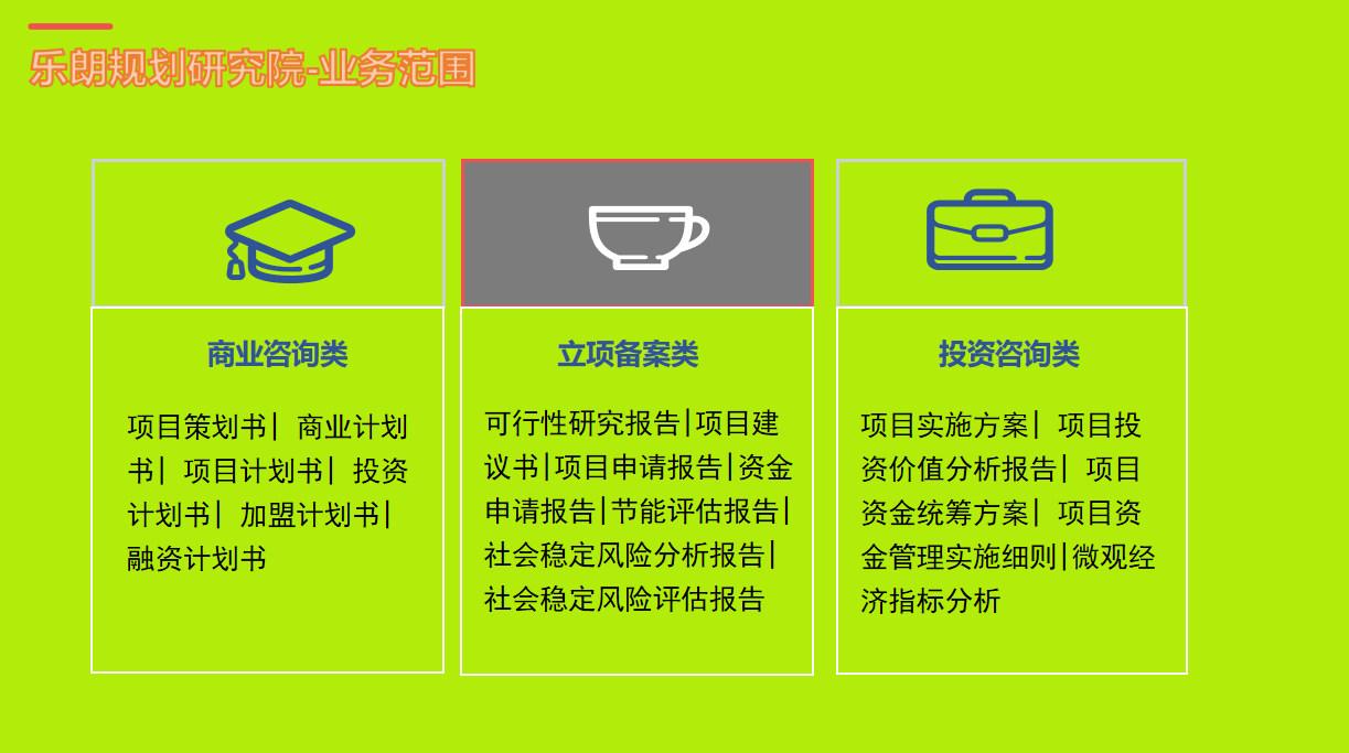 济宁能写可行性报告的资信公司-可研报告今天价格