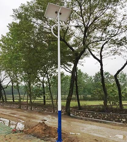 乡县太阳能led路灯厂家指导安装