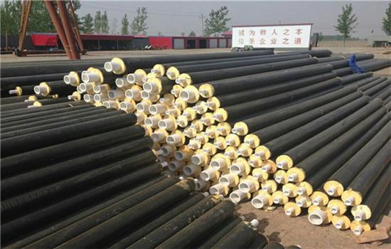 集中供热用直埋保温管道厂家批发价格-黄石市