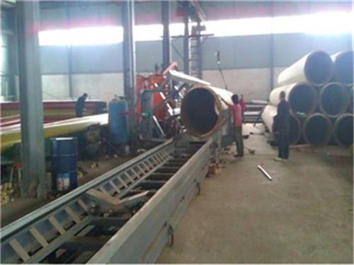 潍坊市黑夹克聚氨酯直埋保温管大型生产厂家
