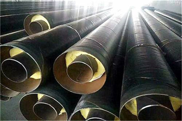新洲钢套钢保温管生产厂家