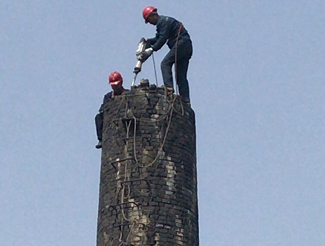 中山火炬烟囱滑模公司——环保施工
