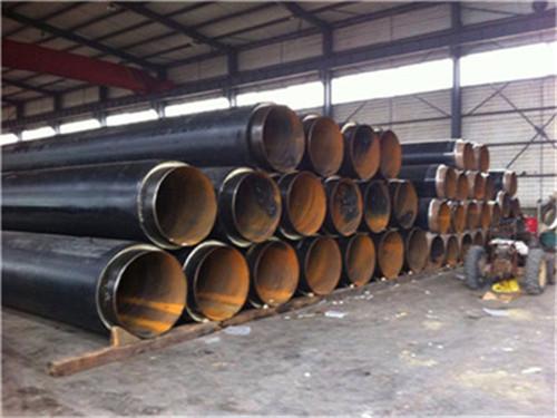 黑龙江省哈尔滨市聚氨酯保温直缝钢管厂家