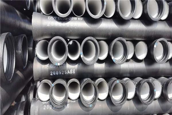 白银球墨铸铁管厂家批发