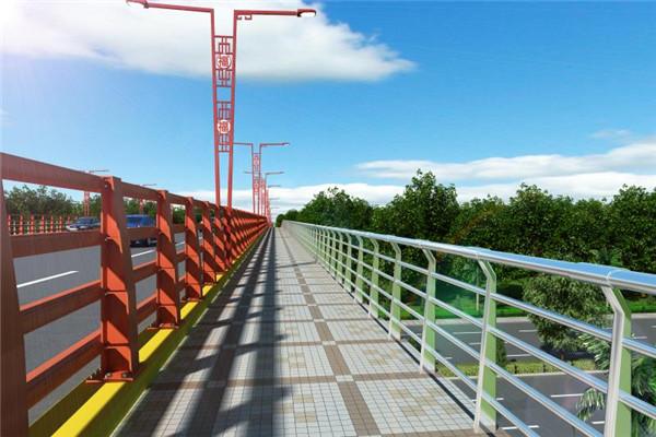 武汉桥梁防护栏杆