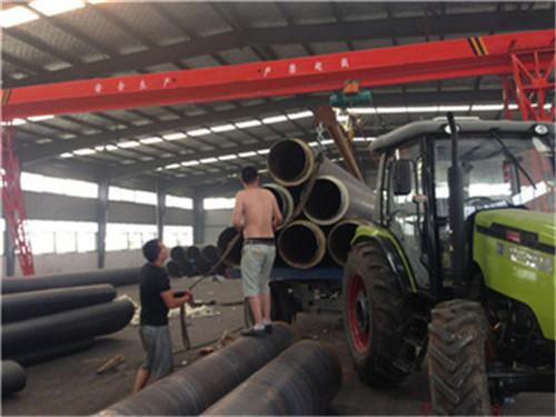 内蒙古自治区锡林郭勒盟聚氨酯黑夹克保温钢管厂家欢迎您