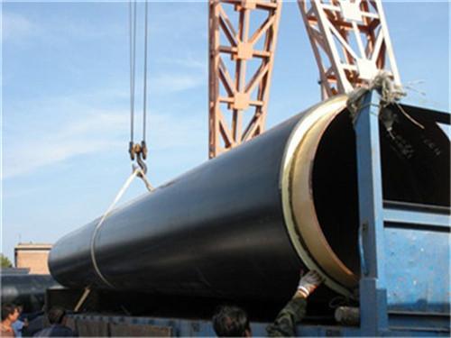 河南省洛阳市高密度聚乙烯发泡保温钢管厂家